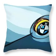 Bmw 40 Throw Pillow