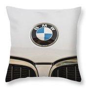 Bmw Emblem Throw Pillow