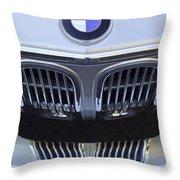 Bmw Grille Throw Pillow