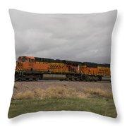 Bnsf Train 5833 A Throw Pillow