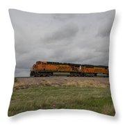 Bnsf Train 5833 B Throw Pillow