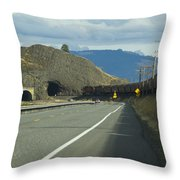 Bnsf Train 789 C Throw Pillow