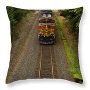 Bnsf Train 789 F Throw Pillow