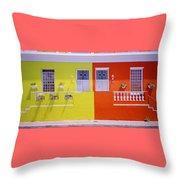 Bo Kaap House Throw Pillow