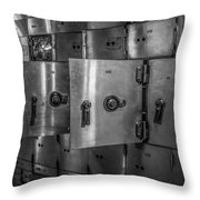 Chicago Board Of Trade Deposit Boxes Throw Pillow