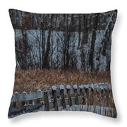 Boardwalk Series No2 Throw Pillow