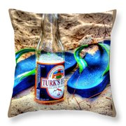 Boat Drinks Throw Pillow