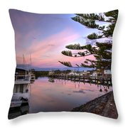 Boat Show Throw Pillow