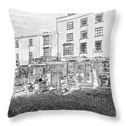 Boat Trips Throw Pillow