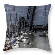 Boat Week 3 Throw Pillow