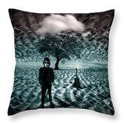 Bob Dylan A Hard Rain's A-gonna Fall Throw Pillow