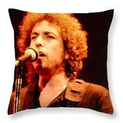 Bob Dylan '79 Throw Pillow