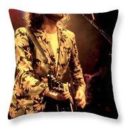 Bob Geldof Throw Pillow