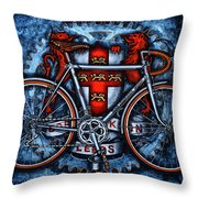 Bob Jackson Throw Pillow by Mark Howard Jones