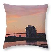 Bob Kerry Pedestrian Bridge Throw Pillow