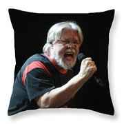 Bob Seger 3730 Throw Pillow