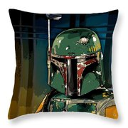Boba Fett 2 Throw Pillow