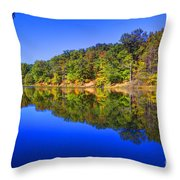 Bobber In The Sky Throw Pillow