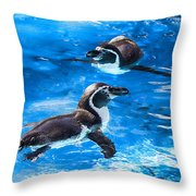 Bobbing Time Throw Pillow