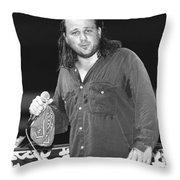 Bobcat Goldthwait Throw Pillow