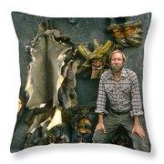 Bobp Throw Pillow