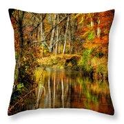Bob's Creek Throw Pillow