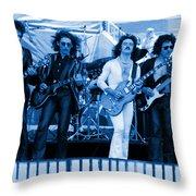 Boc #102 In Blue Throw Pillow