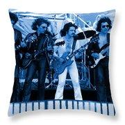 Boc #103 In Blue Throw Pillow