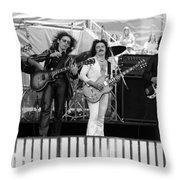 Boc #105 Throw Pillow