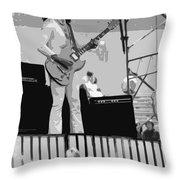 Boc #18 Enhanced In Bw Throw Pillow