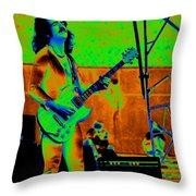 Boc #18 Enhanced In Cosmicolors Crop 2 Throw Pillow