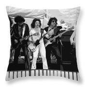 Boc #3 Enhanced Bw Throw Pillow