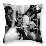 Boc #42 Crop 2 Throw Pillow