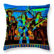 Boc #47 Enhanced In Cosmicolors 2 Throw Pillow