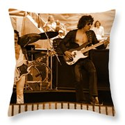 Boc #50 In Amber Throw Pillow