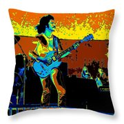 Boc #59 Enhanced In Cosmicolors 2 Throw Pillow