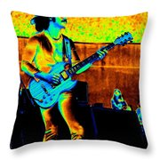 Boc #59 Enhanced In Cosmicolors Throw Pillow