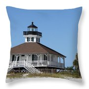 Boca Grande Light Throw Pillow