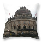 Bode Museum - Berlin - Germany Throw Pillow