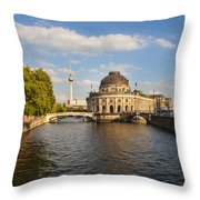 Bode Museum In Berlin Germany Throw Pillow