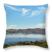 Bodega Harbor II Throw Pillow