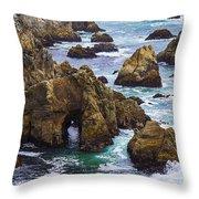 Bodega Head Throw Pillow by Garry Gay