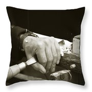 Bodger Bodging Throw Pillow