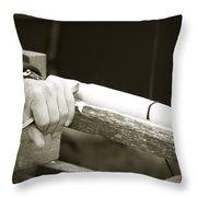 Bodging Throw Pillow