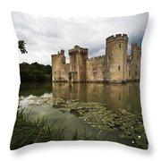Bodiam Castle Throw Pillow