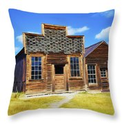 Bodie Barbershop And Store Throw Pillow