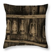 Bodie California Lamp Light  Throw Pillow