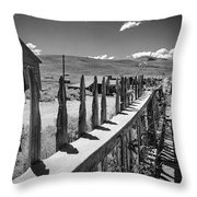 Bodie California Long Dusty Road Throw Pillow