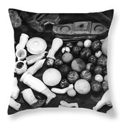 Bodie California Play Things Of Old Throw Pillow