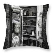 Bodie California Store Window Throw Pillow